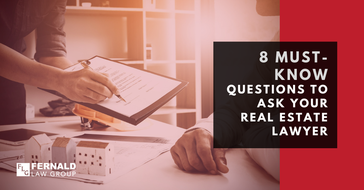 Questions for Your Real Estate Attorney