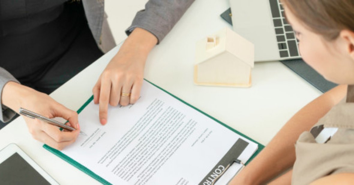 real estate attorney signing contract